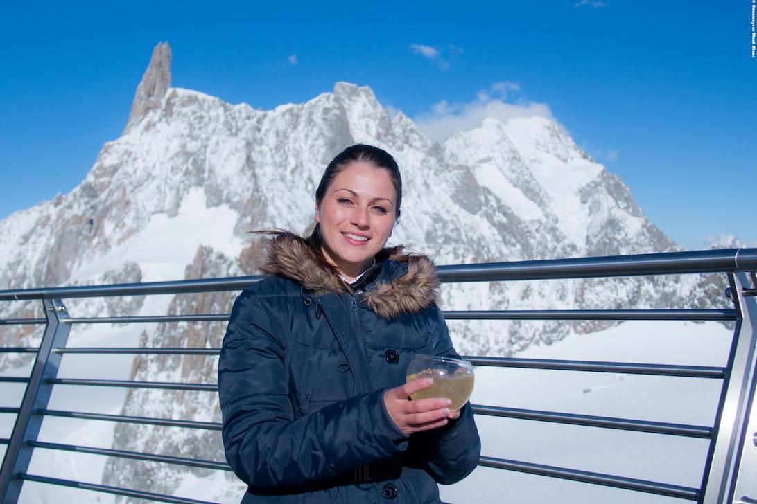 Monte Bianco Ad Alta Gradazione Alcolica Mountcity